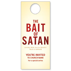 Bait of Satan Door Hangers