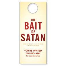 Bait of Satan Door Hanger