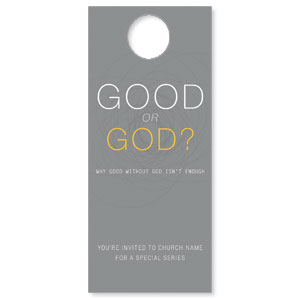 Good or God? Door Hangers