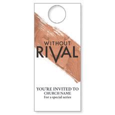 Without Rival Door Hanger