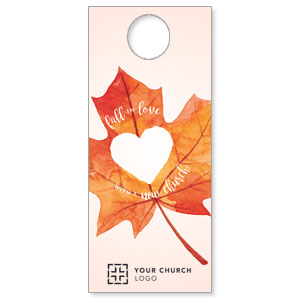 Heart Leaf Door Hangers