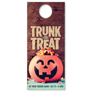 Trunk or Treat DoorHangers