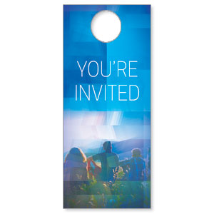 Modern Mosaic Welcome Door Hangers