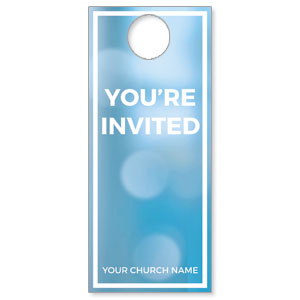 Shimmer Welcome Door Hangers