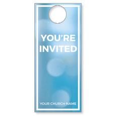 Shimmer Welcome Door Hanger