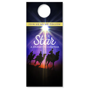 The Star A Journey to Christmas Door Hangers