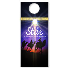 The Star A Journey to Christmas Door Hanger