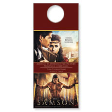 Samson Movie Door Hanger