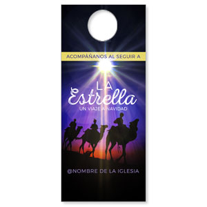 The Star A Journey to Christmas Spanish Door Hangers