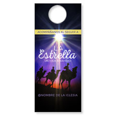 The Star A Journey to Christmas Spanish Door Hanger