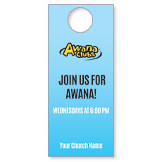 Awana Clubs Door Hanger