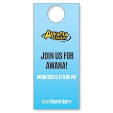 Awana Clubs Door Hanger