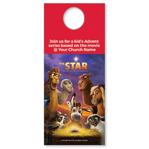 The Star Movie Advent Series for Kids Door Hangers