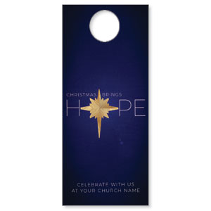 Hope Star Door Hangers