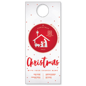 Ornament Cut Out Door Hangers