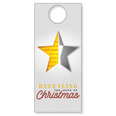 Star Revealing Door Hanger