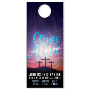 Come Alive Easter Journey Door Hangers