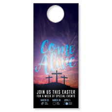 Come Alive Easter Journey Door Hanger