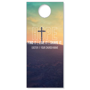 Hope Hill Sunrise Door Hangers