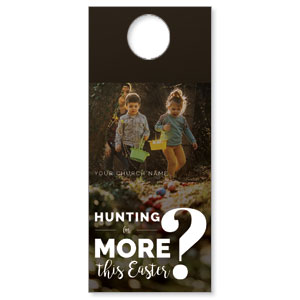 Hunting This Easter Door Hangers