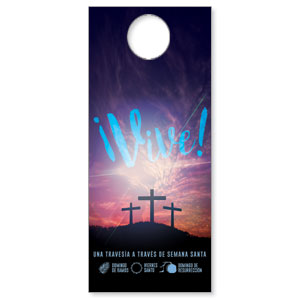 Come Alive Easter Journey Spanish DoorHangers