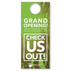 CityReach Urban Green Door Hanger
