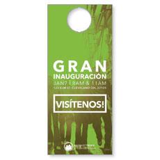 CityReach Urban Green Spanish Door Hanger