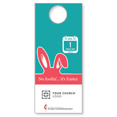 UMC Easter April Door Hanger