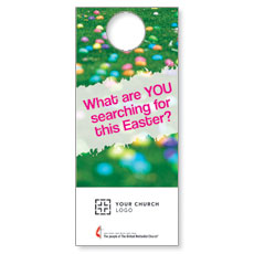 UMC Easter Search Door Hanger