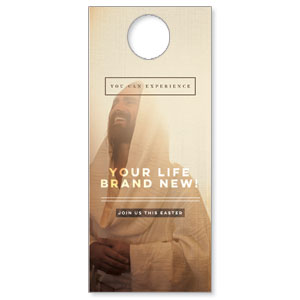 Easter Life Brand New Door Hangers