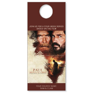 Paul, Apostle of Christ Door Hangers