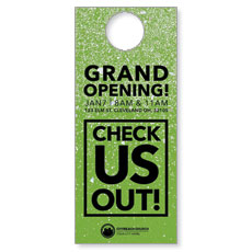 CityReach Green Pebble Fade Door Hanger