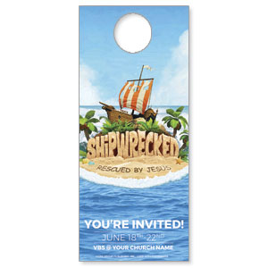 Shipwrecked DoorHangers