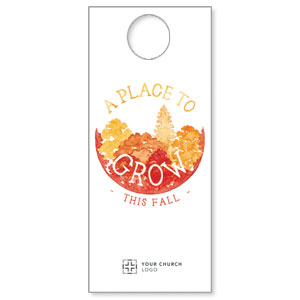 Place to Grow Fall Door Hangers
