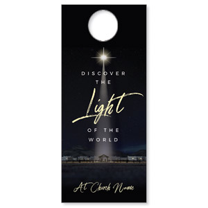 Discover Light of World Door Hangers
