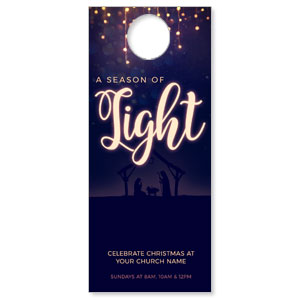 Season of Light Door Hangers