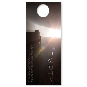 Empty Tomb Open DoorHangers