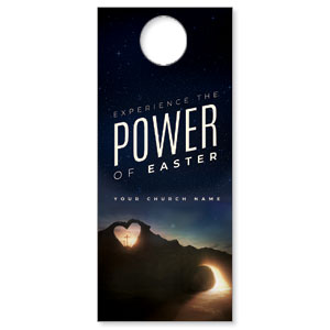 Power of Easter Tomb DoorHangers