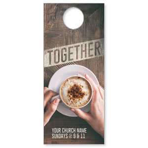Together Coffee DoorHangers