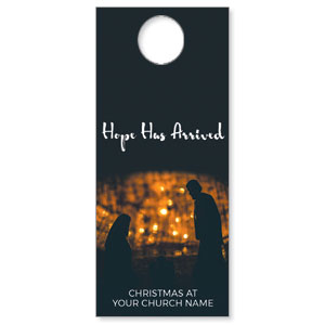 Hope Has Arrived DoorHangers