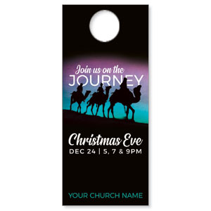 Wise Men Christmas Journey DoorHangers
