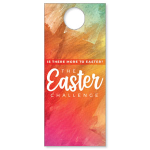 The Easter Challenge DoorHangers