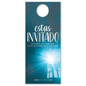 Blue Tomb Spanish DoorHangers