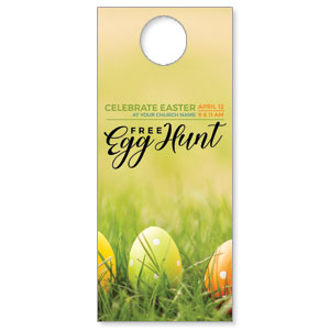 Free Easter Egg Hunt DoorHangers