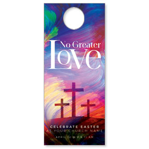 No Greater Love DoorHangers