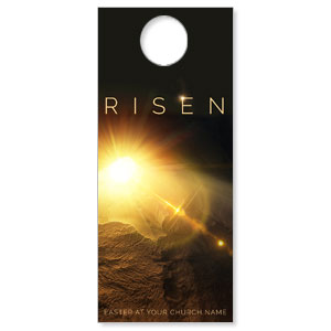 Risen Light Tomb DoorHangers