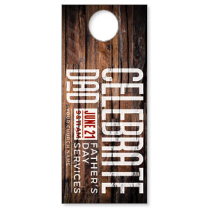 Dimensional Wood Father's Day DoorHangers