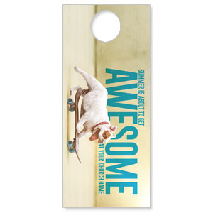 Awesome Summer Dog DoorHangers