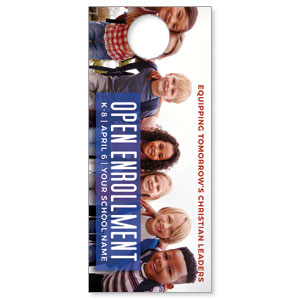 Kids Enroll Together DoorHangers