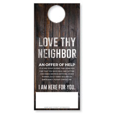 Dark Wood Love Thy Neighbor